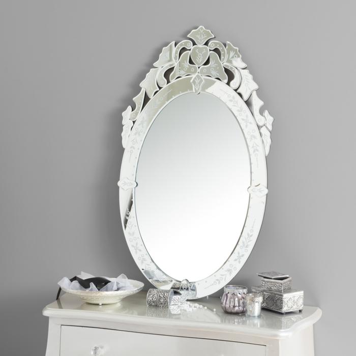 sans doute ce miroir mural est en style vénétien