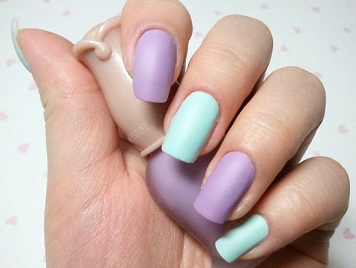tons pastels vernis à ongles