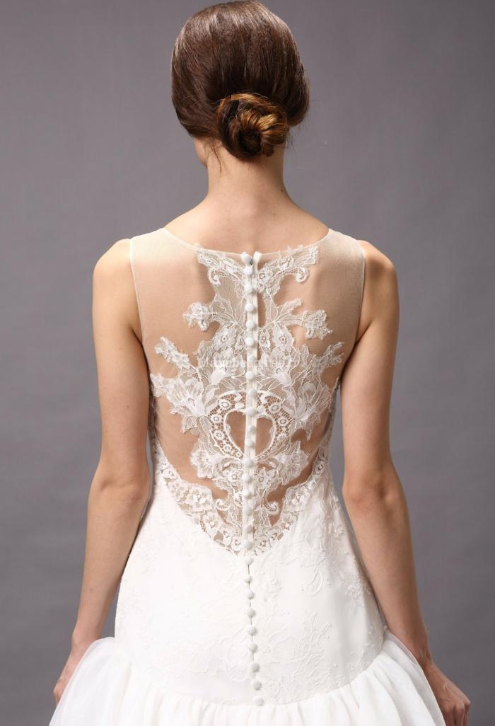 La tendance robe de mari e dentelle - Robe de mariee dentelle dos ...