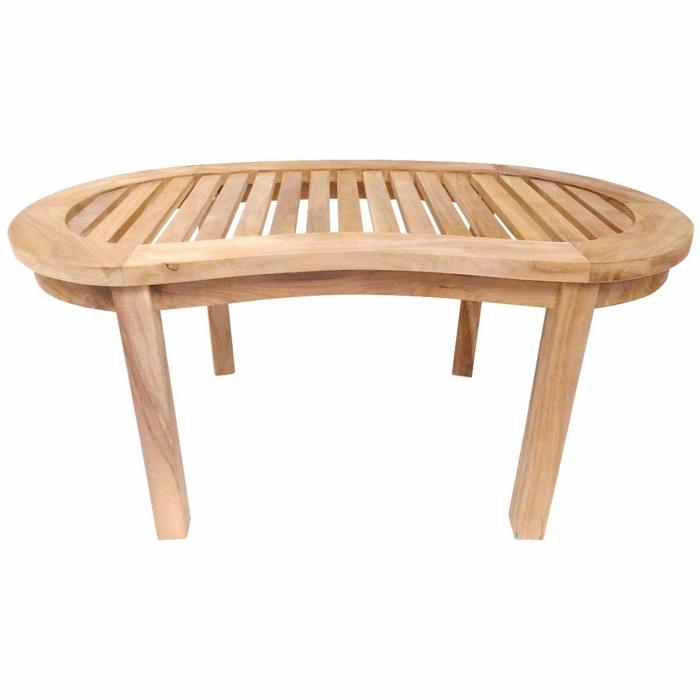 par exemple c'est une table basse teck