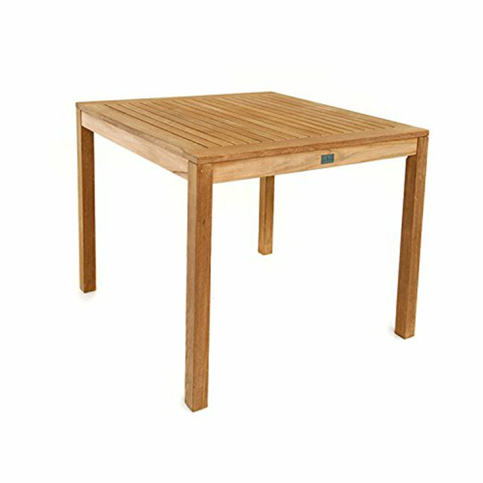 par exemple c'est une table carrée en teck massif