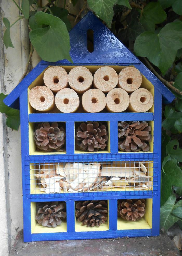 par exemple c'est une villa à insectes