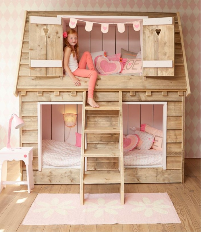 lit cabane enfant id es en immages pour vous inspirer. Black Bedroom Furniture Sets. Home Design Ideas