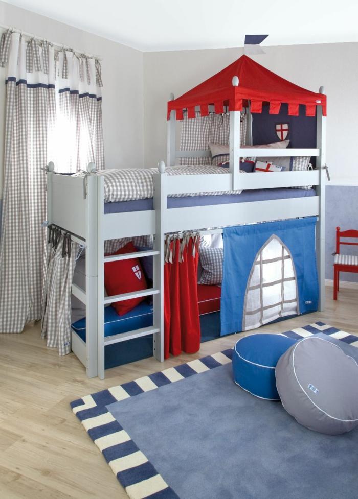 lit cabane