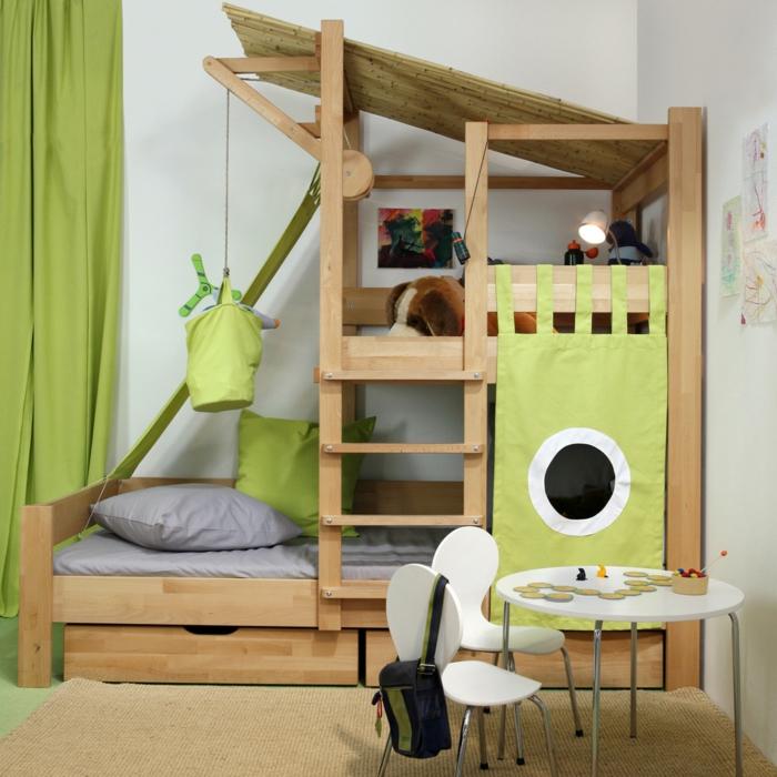lit cabane enfant id es en immages pour vous inspirer. Black Bedroom Furniture Sets. Home Design Ideas