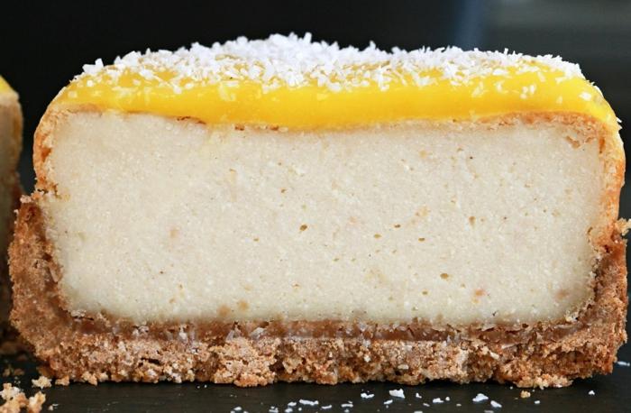 cheesecake huile de coco