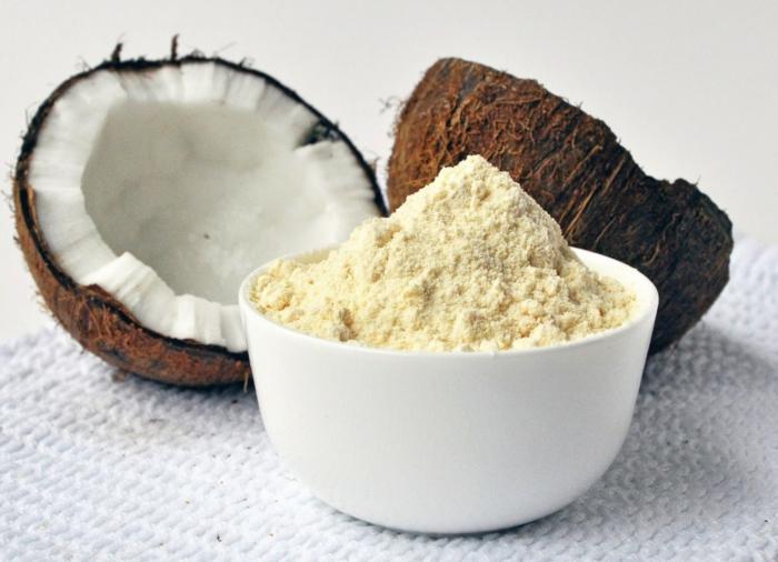 régime sans gluten farine de noix de coco