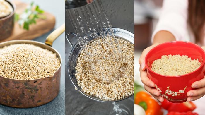 Recettes de la salade de quinoa - Comment cuisiner le quinoa recettes ...