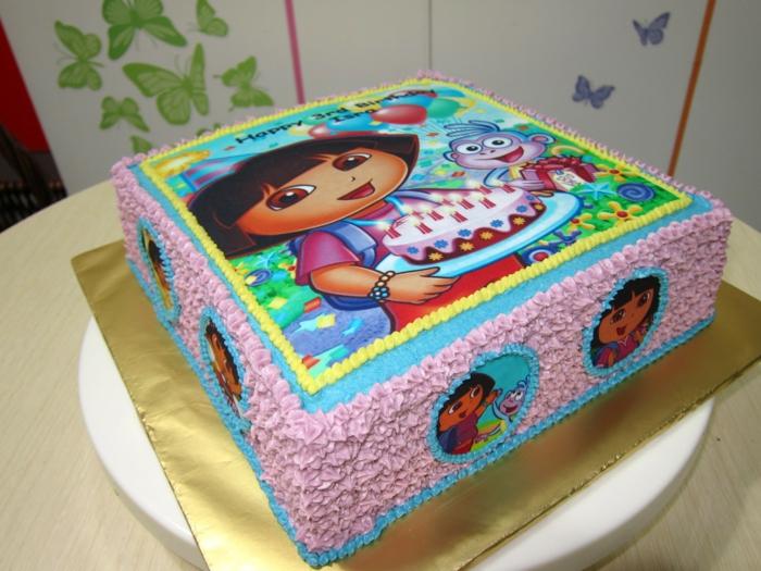 """""""Dora l'exploratrice"""" gâteau"""