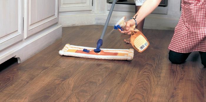 Trucs et astuces pour nettoyer un parquet brut facilement - Entretien parquet brut ...