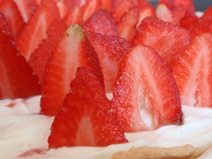 fraises et mascarpone
