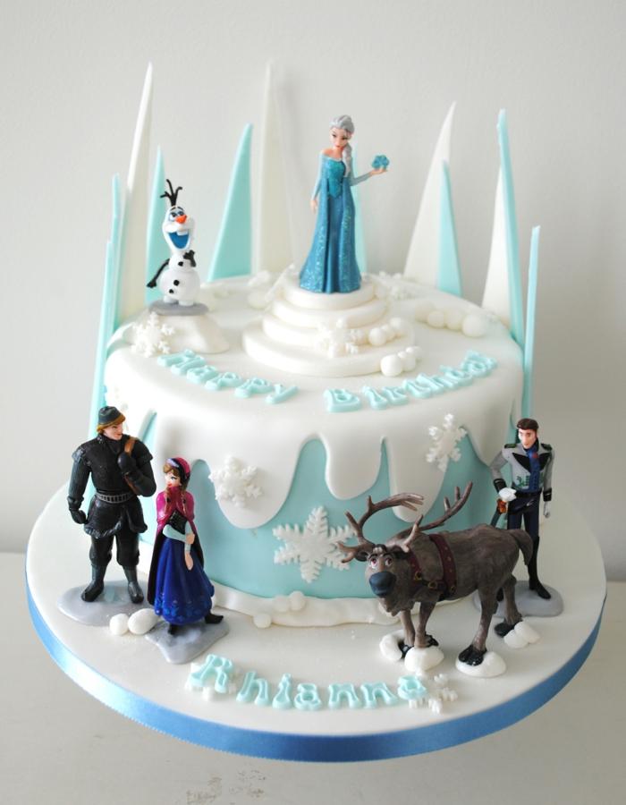 """""""La reine des neiges"""" gâteau"""