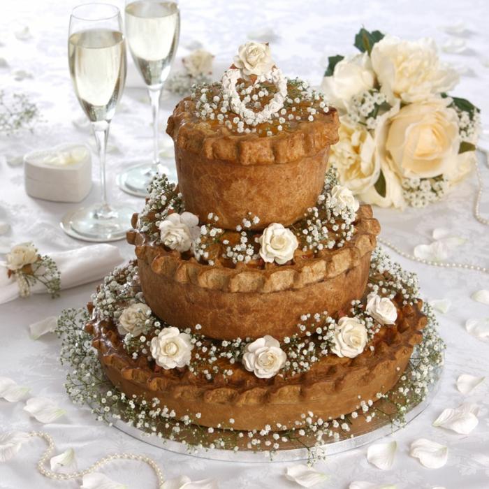 par exemple c'est un gâteau mariage qui n'est pas du tout traditionel