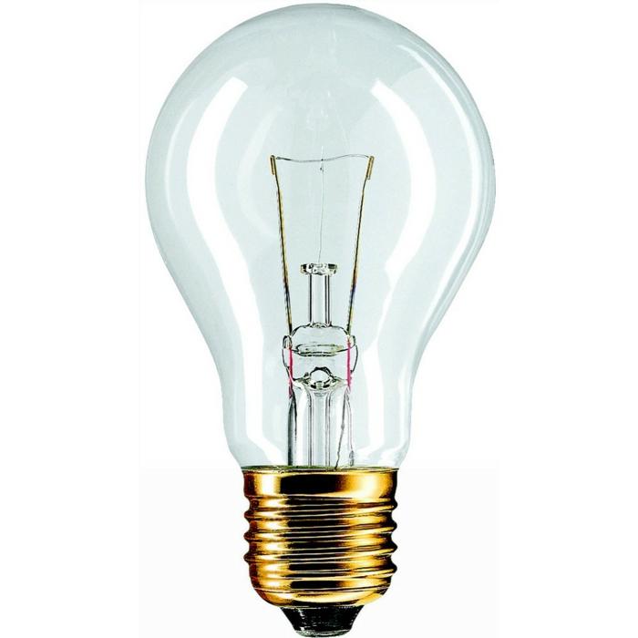par exemple c'est une lampe incandescente