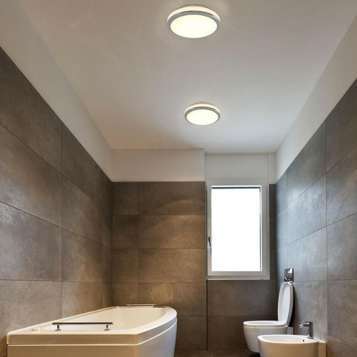 Luminaire salle de bains plafonniers