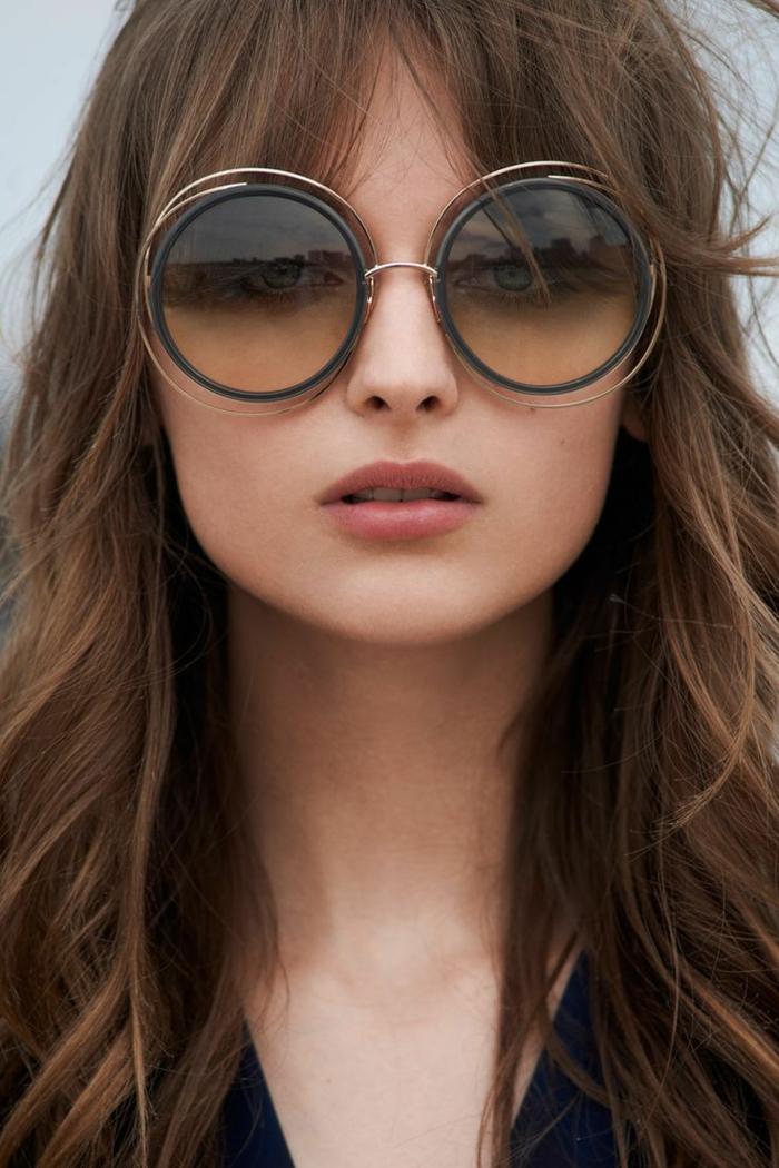 lunettes de soleil visage long