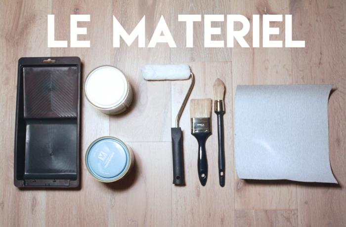 matériel pour peinture de parquet
