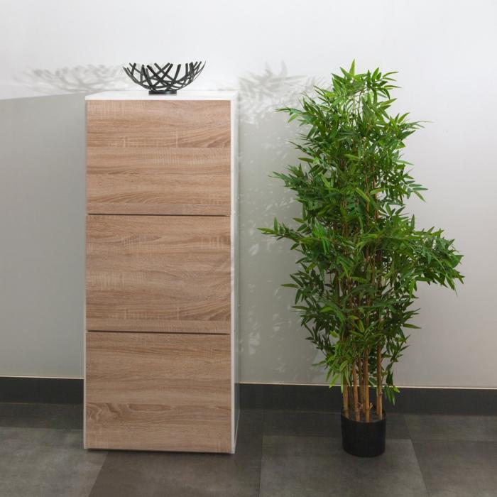 meuble à chaussures en bois