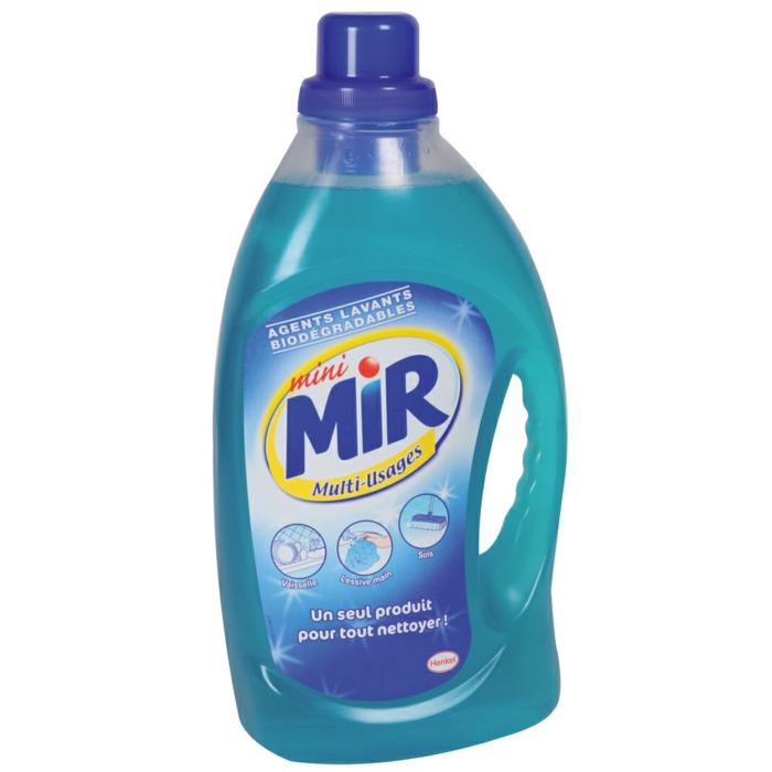 mini mir est parmi les produits utilisés contre les taches sur le parquet brut