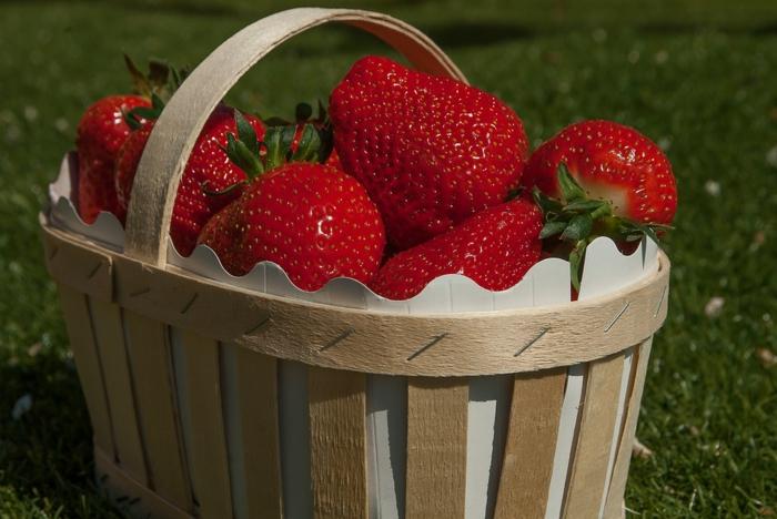 on utilise de plus en plus les fraises dans de différentes recettes
