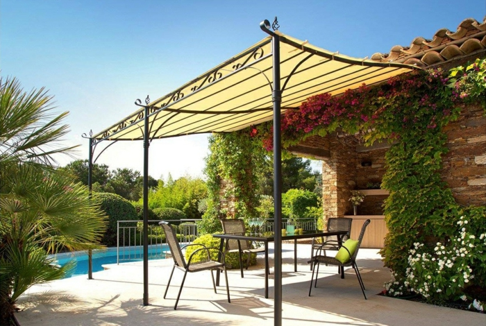 pergola en kit pour chaque saison design robustesse l gance protection. Black Bedroom Furniture Sets. Home Design Ideas