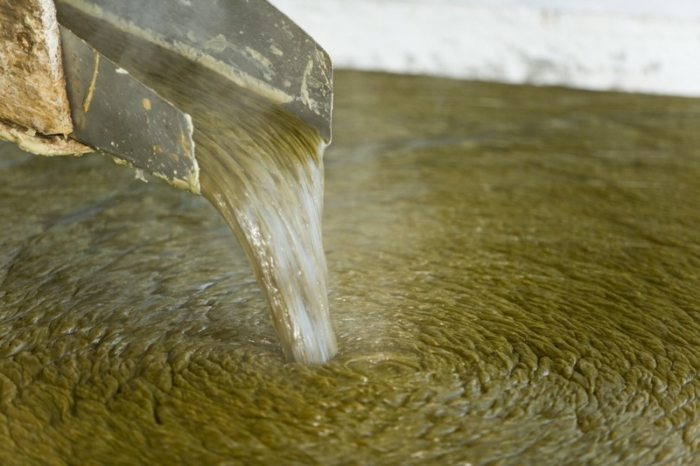 production de savon