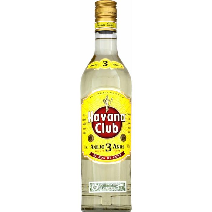 le rhum cubain est souvent utilisé dans les recettes de cocktails