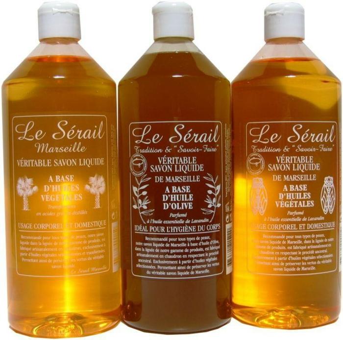 effectivement le savon de marseille peut être trouvé en forme liquide