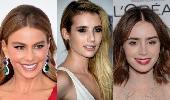 exemples de sourcils épais