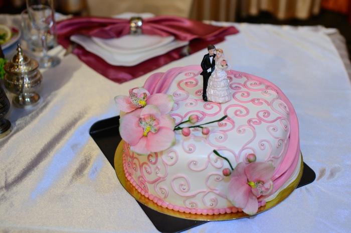 par exemple c'est une tarte avec de petites figurines