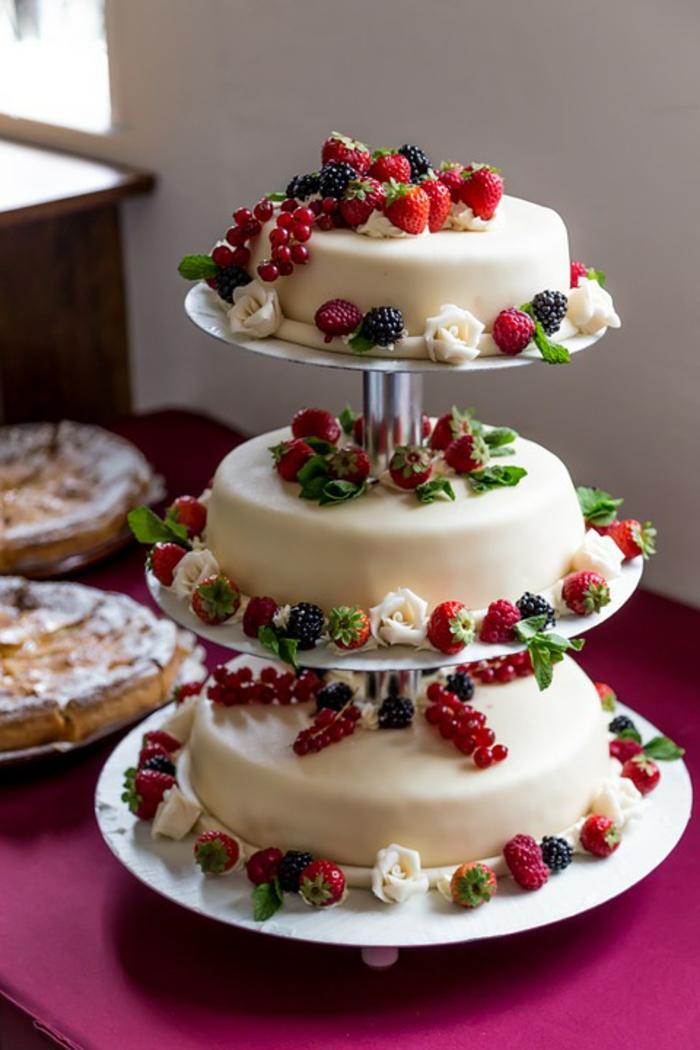 par exemple c'est une tarte avec des fruits