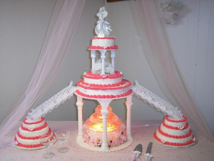 par exemple c'est une tarte en forme d'arche