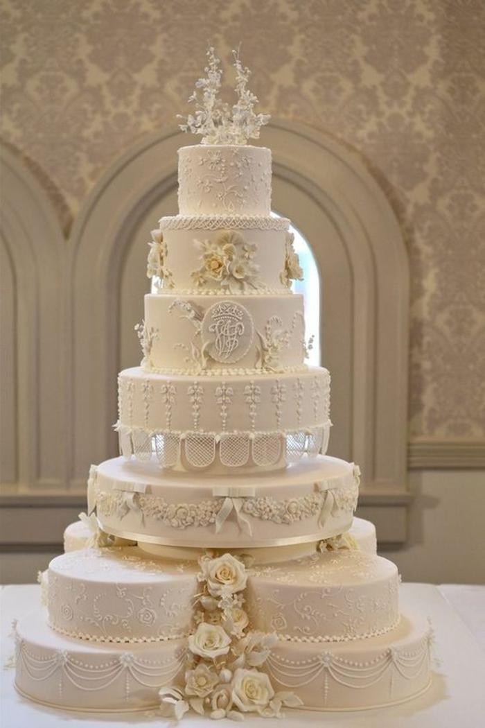 tarte de mariage magnifique