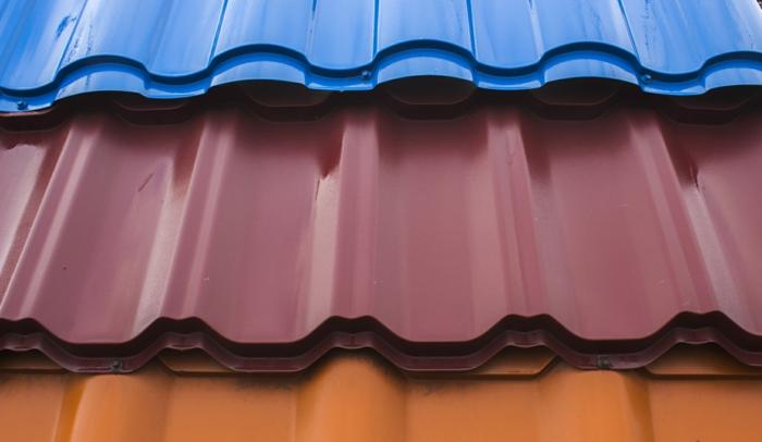 toiture bac en acier différentes couleurs