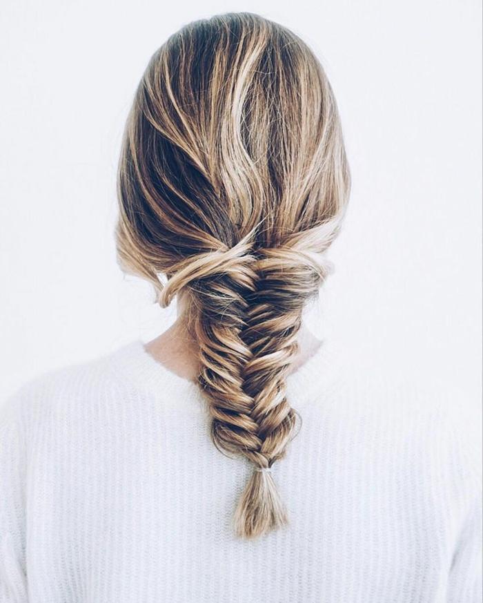 tresse coiffure idée
