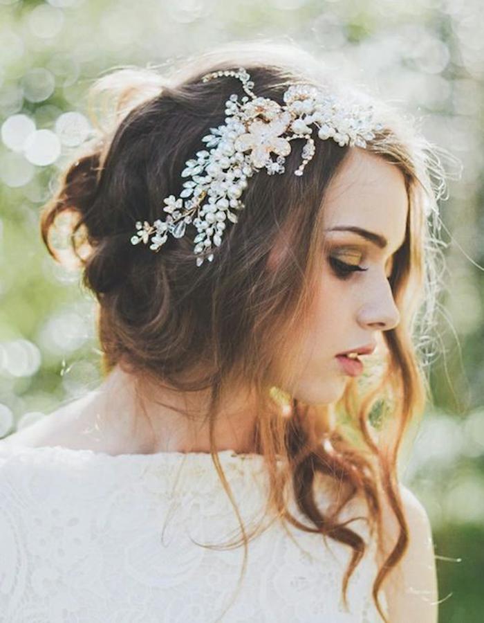Style bohème,Coiffure mariage femme - idées en photos pour vous inspirer