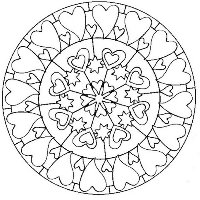amour tatouage mandala