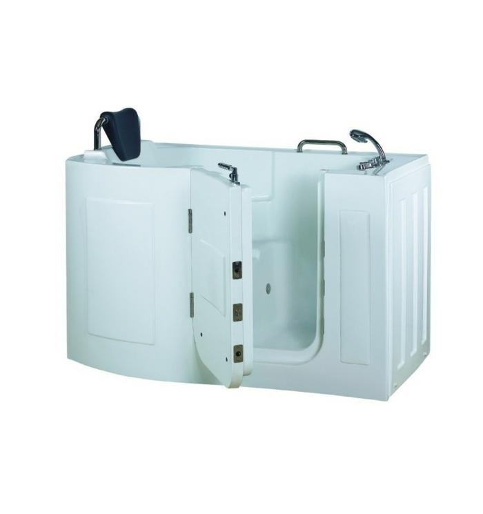 par exemple c'est une baignoire à porte avec option balnéo