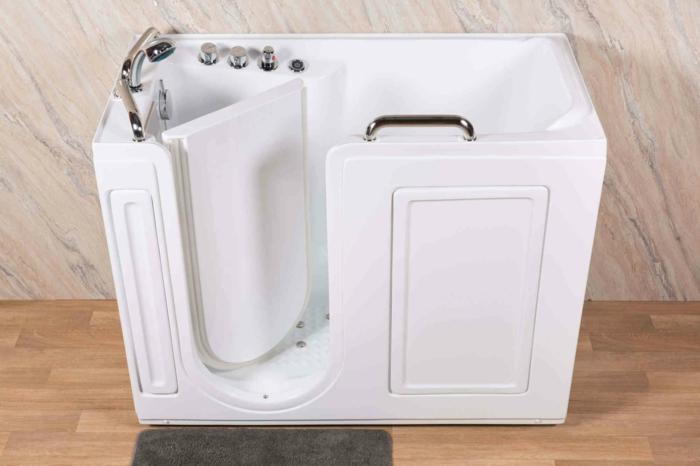 baignoire sabot à porte