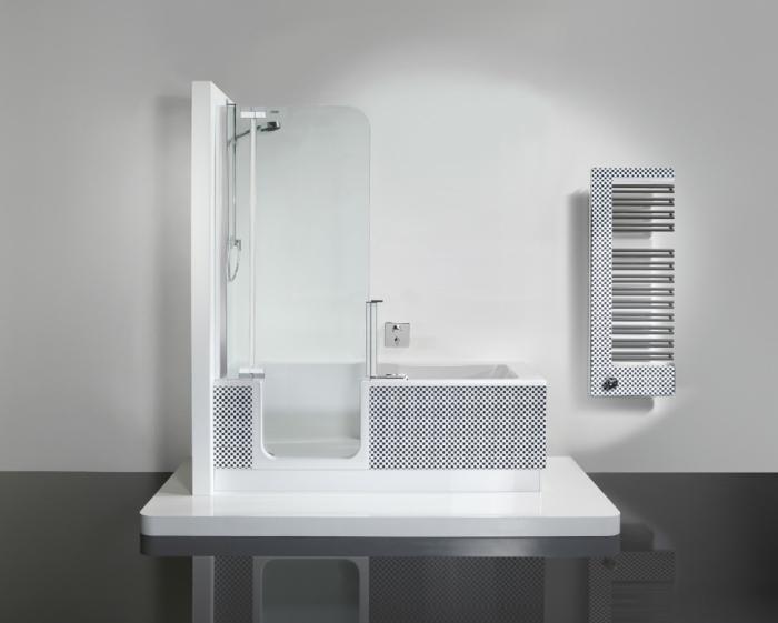 deux fonctionnalités baignoire et douche