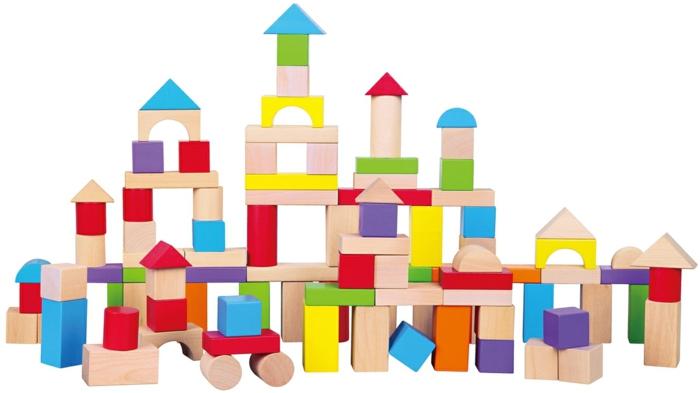 jouet en bois de construction