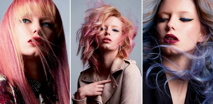 cheveux coloration pour l'été