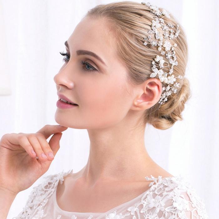 une jolie coiffure mariage
