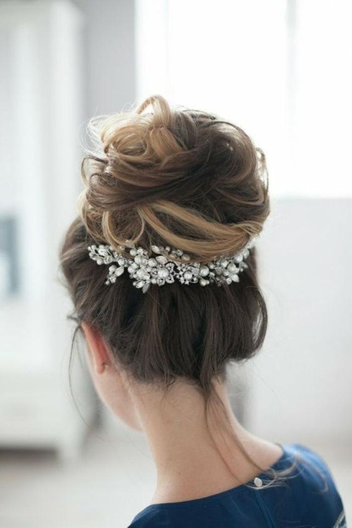 Chignon,Coiffure mariage femme - idées en photos pour vous inspirer