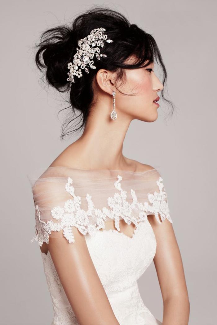 Pour votre mariage,Coiffure mariage femme - idées en photos pour vous inspirer