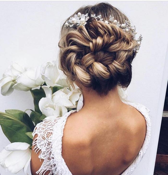 Tresse,coiffure mariage femme - idées en photos pour vous inspirer