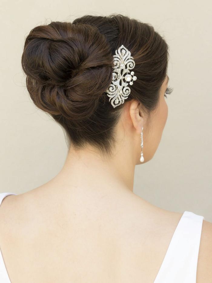 Pour avoir des cheveux brillantes,coiffure mariage femme - idées en photos pour vous inspirer