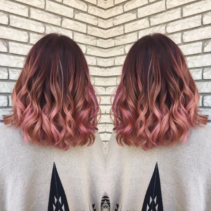 coloration cheveux pour l'été