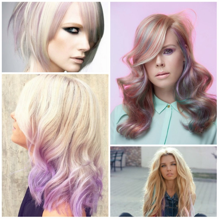 coloration cheveux pastel