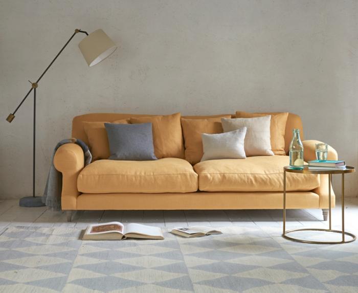 sofa, comment nettoyer un canapé en tissu